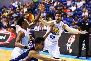 PBA: Meralco equalizes in semis with rout of TNT