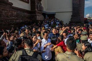 Indonesia bucks strongman trend with Widodo reelection