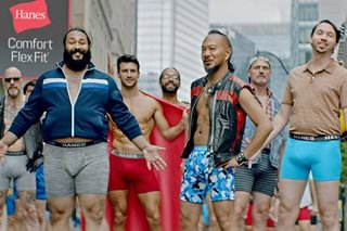 Underwear ads lose the macho as marketing embraces real men