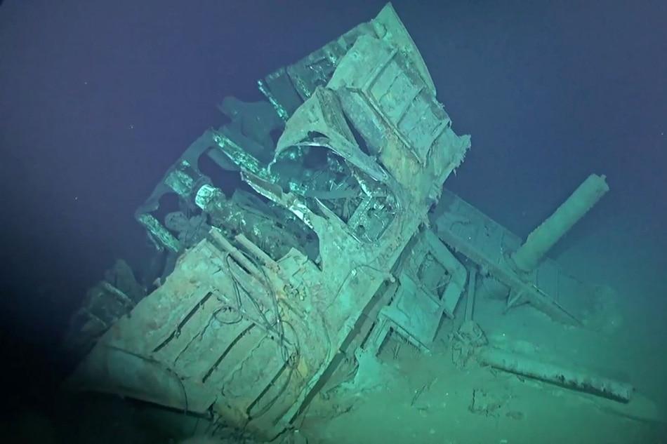 US Navy destroyer sunk in World War II is found 20,000 feet under the sea