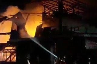 Fire razes 14 houses in Cebu City