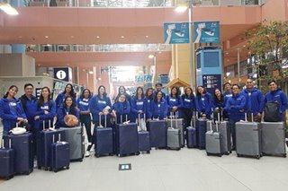 UAAP: Lady Eagles fly to Japan to train ahead of Season 81 competition