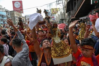 LOOK: Thousands join procession of Nazareno replicas