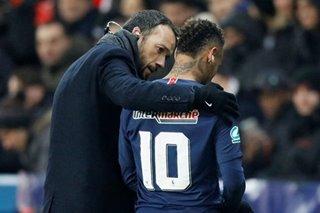 Football: Neymar on foot injury — Leaving it up to God