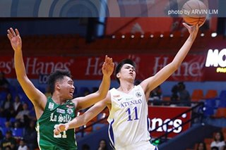 UAAP: Sotto dominates as Ateneo Blue Eaglets overpower La Salle-Zobel