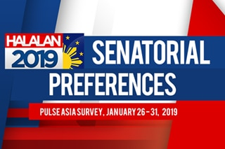 Pulse Asia January 2019 survey: Top 15 senatorial preferences