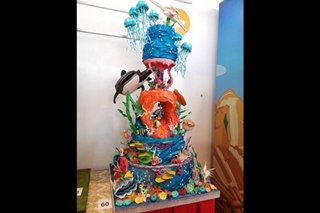 Cake inspired by 'Little Mermaid' wins Bakery Fest competition