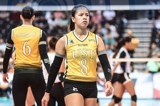 UAAP: Huge UST crowd energized Eya Laure in collegiate debut