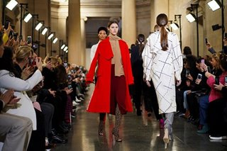 Victoria Beckham looks to '70s prints, Preen influenced by dance