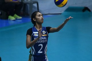 UAAP: Pressure on Orillaneda after NU setter goes down with injury