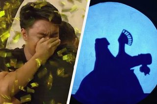 WATCH: Pinoy 'hand shadow' artist wows 'Asia's Got Talent,' becomes golden-buzzer act
