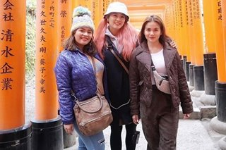 'Making memories': Elisse Joson, Jinri Park tour Japan with DJ Chacha