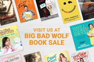 Meet Kapamilya authors at the Big Bad Wolf book sale