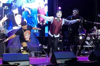 WATCH: Tanya Markova teams up with viral dancer Dante Gulapa in rock fest