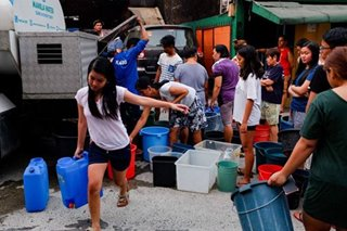 Manila Water releases partial list of 'severely affected' areas
