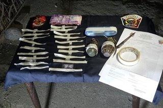 Shabu at pampasabog, nasabat sa buy-bust sa Zamboanga City