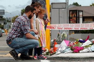 Christchurch tribute to attack victims