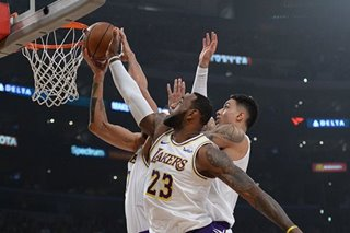 NBA: Lakers, James overrule Kings, end losing streak