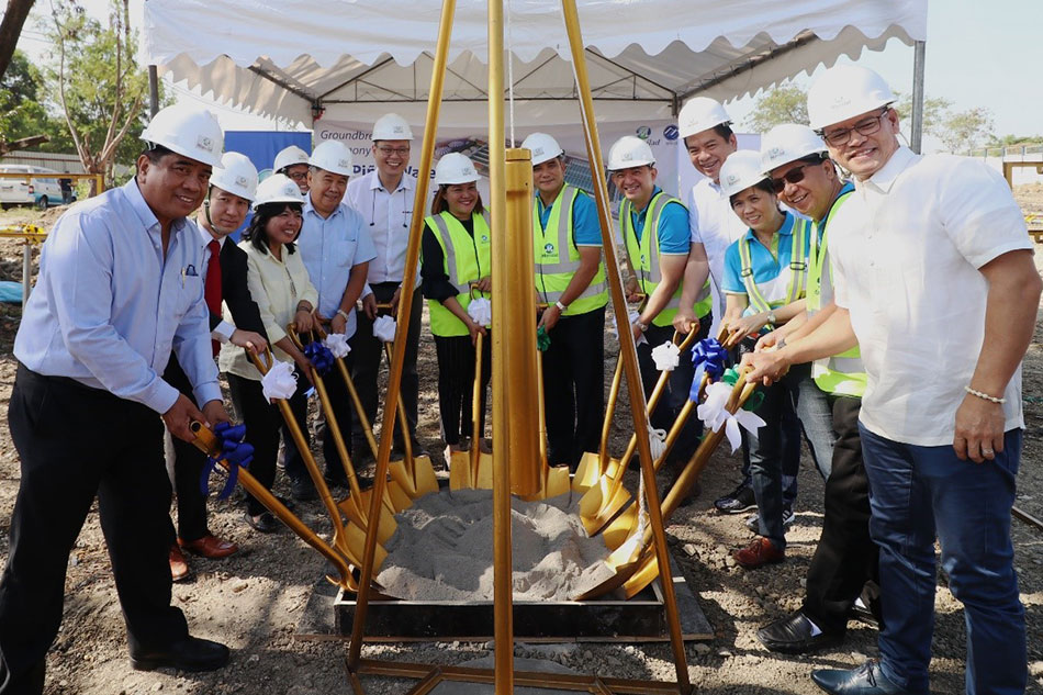Megawide kicks off construction of Maynilad's wastewater treatment plant