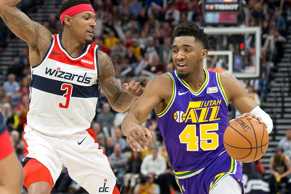 Image result for bradley beal donovan mitchell