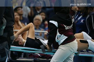 UAAP: UP's Molde cleared of serious injuries