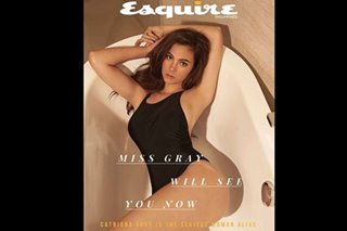 Catriona Gray is Esquire PH's 'Sexiest Woman Alive' for 2019