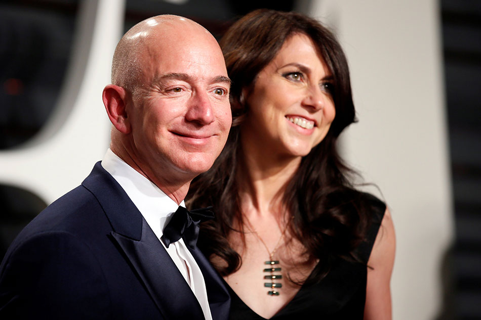 Why Jeff Bezos's ex-wife MacKenzie is worth more than $36bn