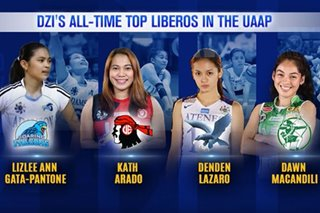 The Score: Who are the all-time best liberos in UAAP? Analysts share their list
