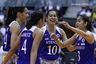 BALIKAN: Pagkapanalo ng Ateneo sa UAAP women's volleyball