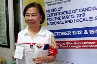 Comelec cancels candidacy of Dapitan mayoralty candidate over residency issue