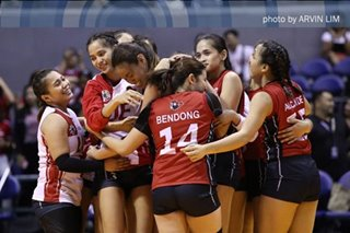 UAAP women's volleyball: UE sweeps Adamson for third win