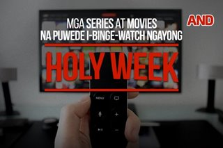 Mga series at movies na puwede i-binge-watch ngayong Holy Week