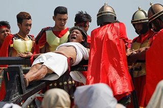 'Great event to see live': Pinoy crucifixion in the eyes of some tourists
