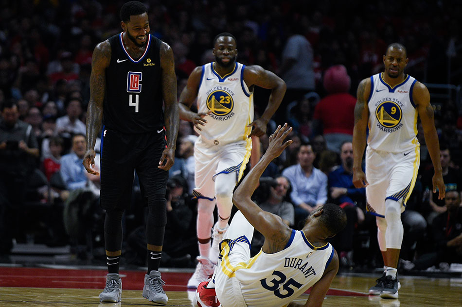 Warriors one win away from eliminating Clippers after Game 4 victory