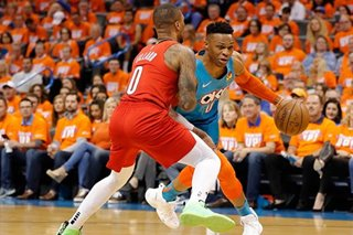 NBA: Lillard, Westbrook set to tangle again in Game 4