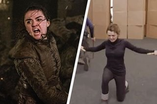 'Game of Thrones' star Maisie Williams trained in this Filipino martial art for Battle of Winterfell scene