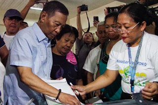 Partial #HalalanResults: Ex-VP Binay lagging in Makati congressional race