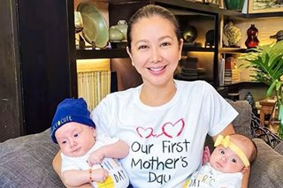 'Sa wakas, ako naman': Korina Sanchez celebrates her first Mother's Day