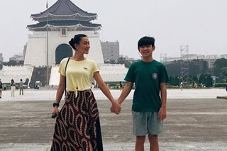 LOOK: Jodi Sta. Maria explores Taipei with son Thirdy for the first time