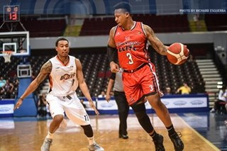 PBA: Blackwater holds off Meralco in OT to open Commissioner's Cup