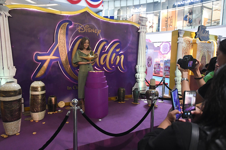 Aladdin taking flight with US$105 million in North America