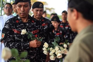 'It'll take time to move on': Troops commemorated on Marawi siege anniversary