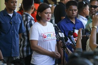 Sara Duterte to 'rethink' HNP after missing out on majority bloc vote in Davao region