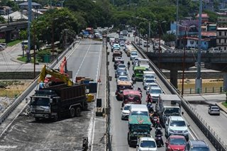 Monster traffic jam at Marcos Highway