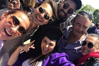 Cherie Gil, a proud mom as daughter graduates from New York University