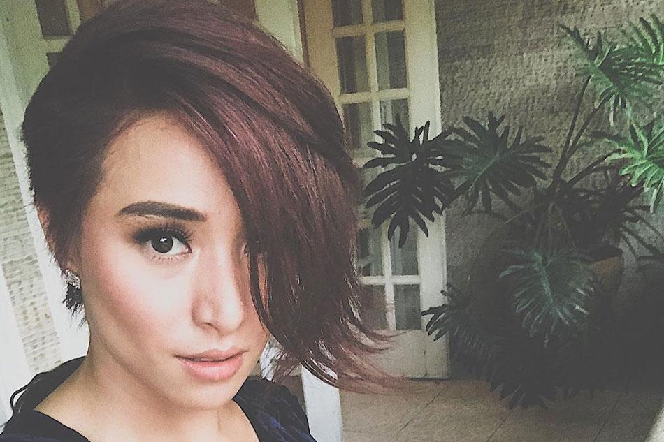 Bright Red No More Cristine Reyes Now Sports Dark Brown Hair Abs Cbn