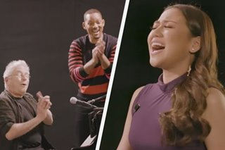 WATCH: Morissette wows Will Smith, 'Aladdin' composer with 'A Whole New World'