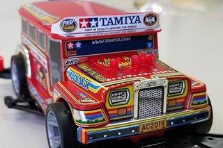 LOOK: Tamiya creates PH jeepney kit