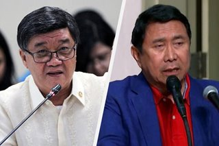 Ex-Justice chief Aguirre accuses Mon Tulfo of defamation