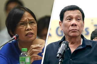 Duterte alleges journalist sought money from politicians to pay for cancer treatment